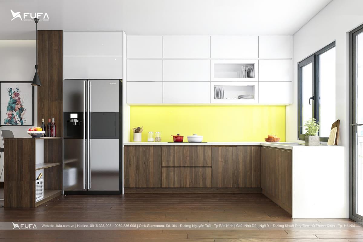 Kích thước tủ bếp chuẩn theo thiết kế