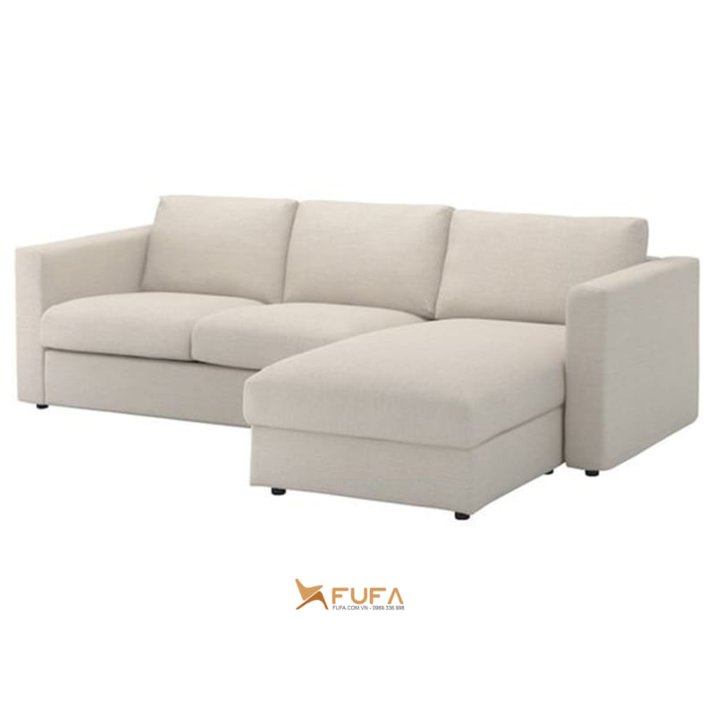 Sofa nỉ hiện đại phòng khách đẹp