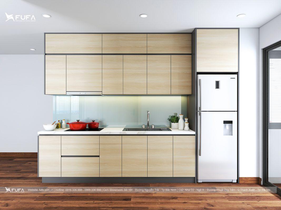 Tủ bếp gỗ công nghiệp Fufa Design