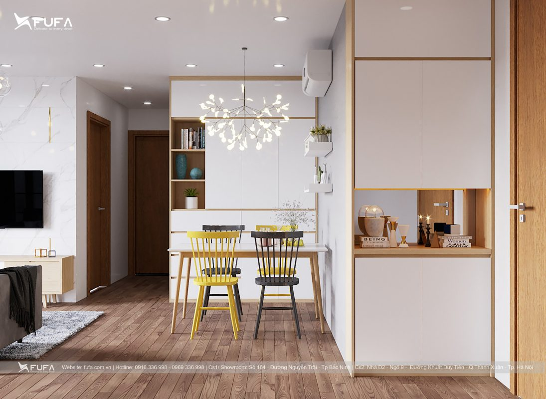Tủ bếp Laminate FuFa Design